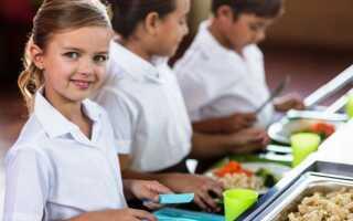 Бесплатное питание в школах в 2021-2022 учебном году