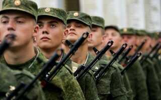 Срок службы в армии в 2022 году