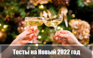 Тосты на Новый год Тигра 2022: прикольные для корпоратива