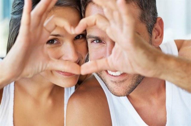 мужчина и женщина сердце