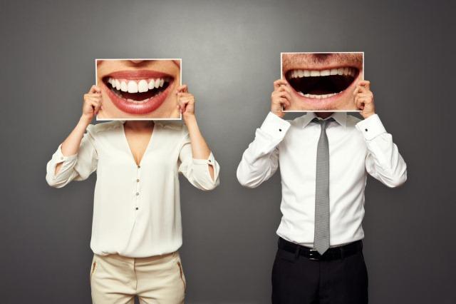 люди с огромными улыбками